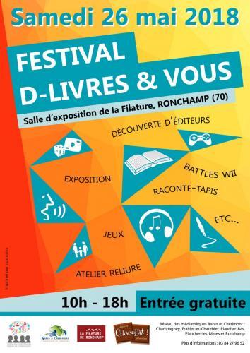 Festival D-Livres et vous