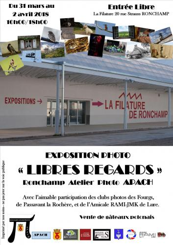 "Expositions ""Libre Regards"""