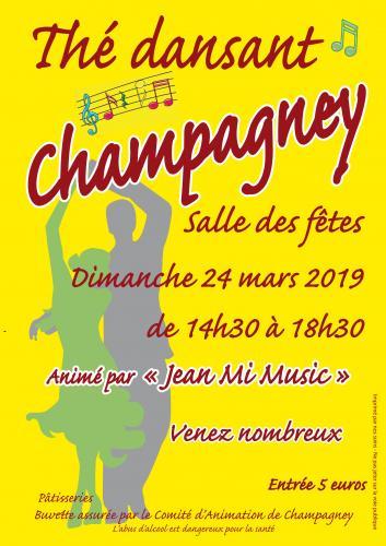 Thé Dansant à Champagney