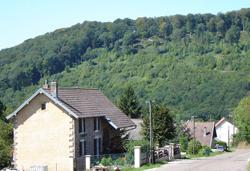 Village de Belverne en Haute-Saône