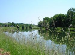 Le port de Frahier et le canal d'irrigation