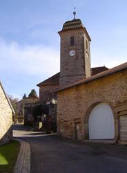 Eglise Luthérienne de Clairegoutte en Haute-Saône
