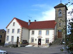 La Mairie-Ecole-Elise de Frédéric-Fontaine en Haute-Saône